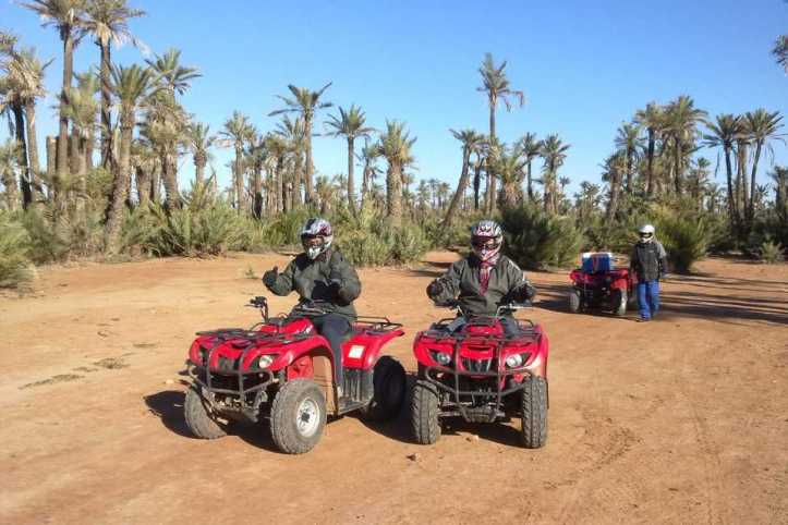 Marrakech Quad Biking surrounding Berber villages and Palm Grove